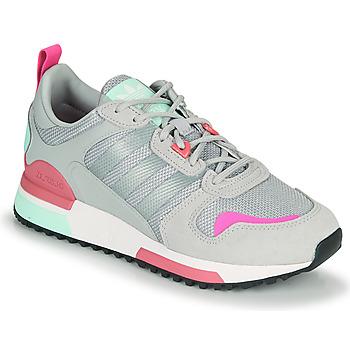 kengät Naiset Matalavartiset tennarit adidas Originals ZX 700 HD W Harmaa / Vaaleanpunainen