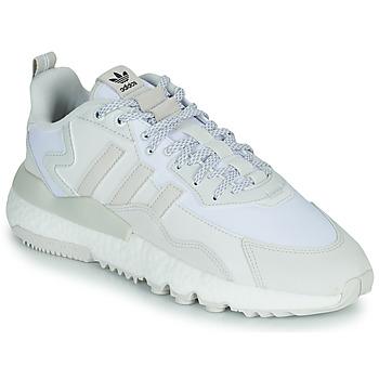 kengät Matalavartiset tennarit adidas Originals NITE JOGGER Valkoinen