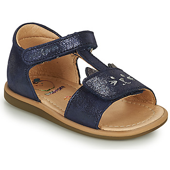 kengät Tytöt Sandaalit ja avokkaat Shoo Pom TITY MIAOU Sininen
