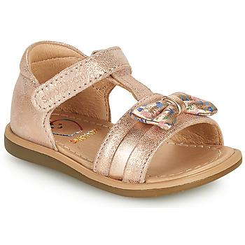 kengät Tytöt Sandaalit ja avokkaat Shoo Pom TITY NEW KNOT Vaaleanpunainen