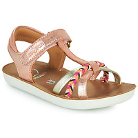 kengät Tytöt Sandaalit ja avokkaat Shoo Pom GOA SALOME Vaaleanpunainen