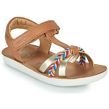kengät Tytöt Sandaalit ja avokkaat Shoo Pom GOA SALOME Ruskea