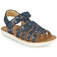 kengät Tytöt Sandaalit ja avokkaat Shoo Pom GOA SPART Sininen