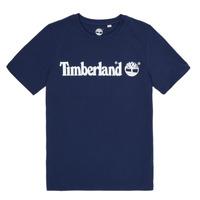 vaatteet Pojat Lyhythihainen t-paita Timberland VUILL Laivastonsininen