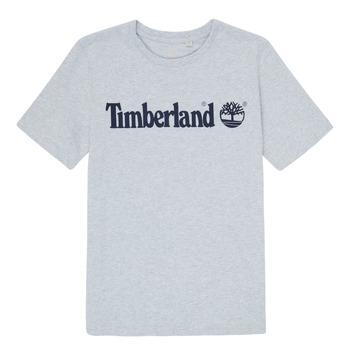 vaatteet Pojat Lyhythihainen t-paita Timberland NINNO Harmaa