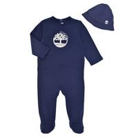 vaatteet Pojat pyjamat / yöpaidat Timberland HIPPI Laivastonsininen