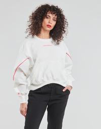 vaatteet Naiset Svetari Converse BLOCKED ALTERRAIN CREW Valkoinen