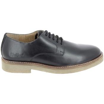 kengät Miehet Derby-kengät & Herrainkengät Kickers Oxbrok Noir Musta