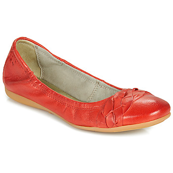 kengät Naiset Balleriinat Dream in Green CICALO Red