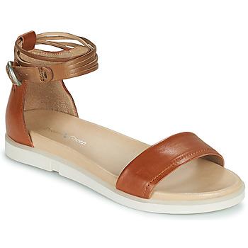 kengät Naiset Sandaalit ja avokkaat Dream in Green IRVANI Brown
