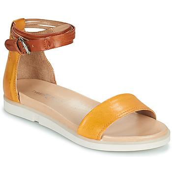 kengät Naiset Sandaalit ja avokkaat Dream in Green IRVANI Keltainen