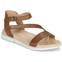 kengät Naiset Sandaalit ja avokkaat Dream in Green OURY Brown