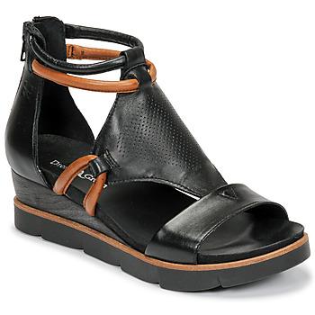 kengät Naiset Sandaalit ja avokkaat Dream in Green LIRABIEN Musta