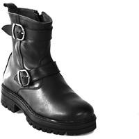 kengät Lapset Bootsit Asso 67961 Musta