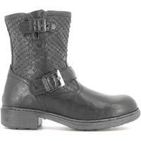 kengät Lapset Bootsit NeroGiardini A632010F Musta