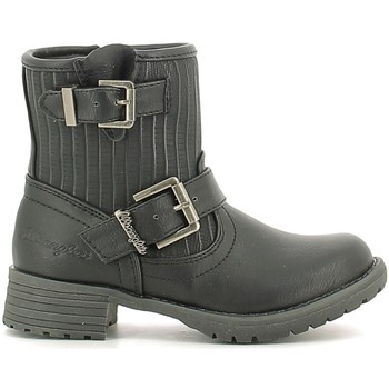 kengät Lapset Bootsit Wrangler WG16205B Musta
