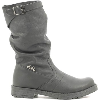 kengät Lapset Saappaat Lulu LL1000017L Musta