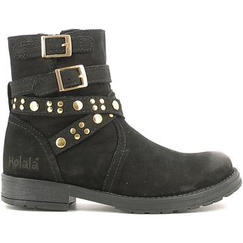 kengät Lapset Bootsit Holalà HL120008L Musta