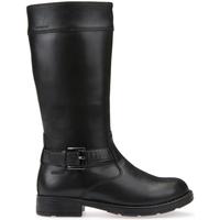 kengät Lapset Saappaat Geox J64A2A 00043 Musta