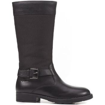 kengät Lapset Saappaat Geox J64A2A 043FU Musta