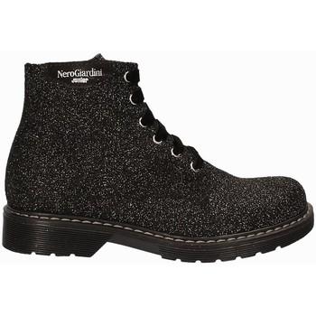 kengät Lapset Bootsit NeroGiardini A732551F Musta