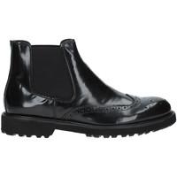 kengät Miehet Bootsit Exton 498 Musta
