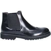 kengät Miehet Bootsit Exton 5357 Musta