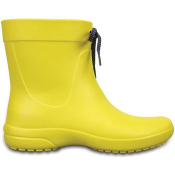 kengät Miehet Kumisaappaat Crocs 203851 Keltainen