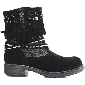 kengät Lapset Bootsit NeroGiardini A830730F Musta