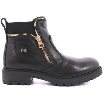 kengät Lapset Bootsit NeroGiardini A830791F Musta