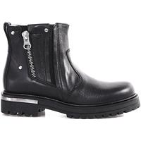 kengät Lapset Bootsit NeroGiardini A830830F Musta