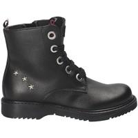 kengät Lapset Bootsit Tommy Hilfiger T4A5-30068-0289 Musta