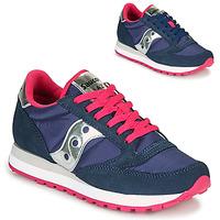 kengät Naiset Matalavartiset tennarit Saucony JAZZ ORIGINAL Sininen / Vaaleanpunainen