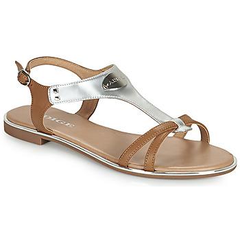 kengät Naiset Sandaalit ja avokkaat Adige ANNABELLE V4 SPECCHIO SILVER Hopea