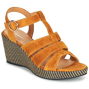 kengät Naiset Sandaalit ja avokkaat Adige FLORY V4 UNDER SAFRAN Keltainen