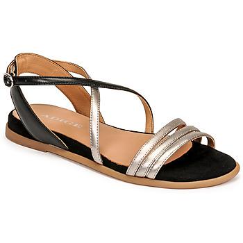 kengät Naiset Sandaalit ja avokkaat Adige IDIL V2 CENTURY ACERO Hopea