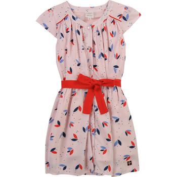 vaatteet Tytöt Lyhyt mekko Carrément Beau Y12246-44L Vaaleanpunainen
