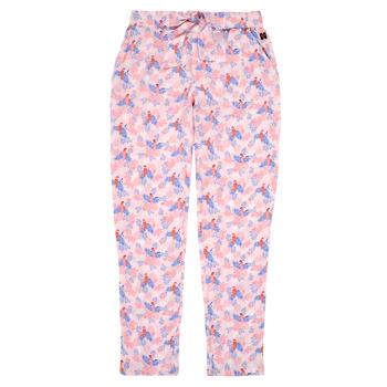 vaatteet Tytöt Väljät housut / Haaremihousut Carrément Beau Y14187-44L Vaaleanpunainen