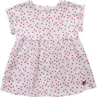 vaatteet Tytöt Lyhyt mekko Carrément Beau Y92119-10B Valkoinen