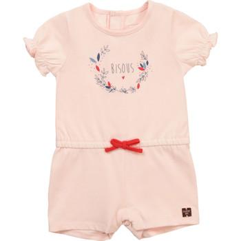 vaatteet Tytöt Jumpsuits / Haalarit Carrément Beau Y94234-44L Vaaleanpunainen