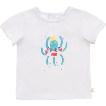 vaatteet Pojat Lyhythihainen t-paita Carrément Beau Y95275-10B Valkoinen