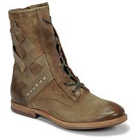 kengät Naiset Bootsit Airstep / A.S.98 ZEPORT TRESSE Kaki