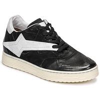 kengät Naiset Matalavartiset tennarit Airstep / A.S.98 ZEPPA Musta / Valkoinen