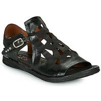 kengät Naiset Sandaalit ja avokkaat Airstep / A.S.98 RAMOS PERF Musta