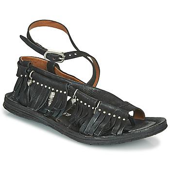 kengät Naiset Sandaalit ja avokkaat Airstep / A.S.98 RAMOS FRANGE Musta