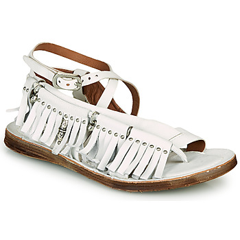 kengät Naiset Sandaalit ja avokkaat Airstep / A.S.98 RAMOS FRANGE Valkoinen