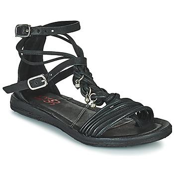 kengät Naiset Sandaalit ja avokkaat Airstep / A.S.98 RAMOS TORSADE Musta