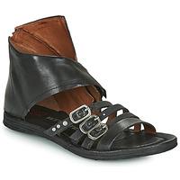 kengät Naiset Sandaalit ja avokkaat Airstep / A.S.98 RAMOS HIGH Musta