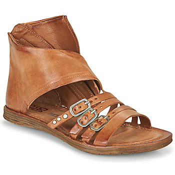 kengät Naiset Sandaalit ja avokkaat Airstep / A.S.98 RAMOS HIGH Kamelinruskea