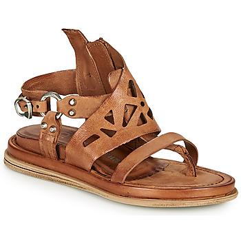 kengät Naiset Sandaalit ja avokkaat Airstep / A.S.98 POLA GRAPH Kamelinruskea